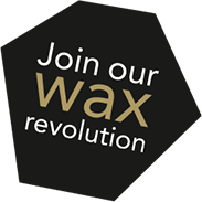 Join our wax revolution logo black